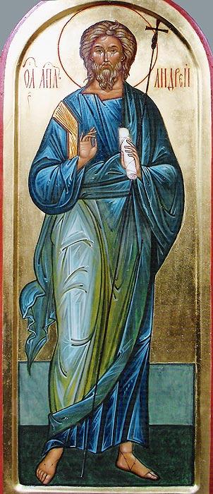 ... икона «Апостол Андрей Первозванный: www.gallery-visconti.ru/catalog/icony/detail.php?ID=1890